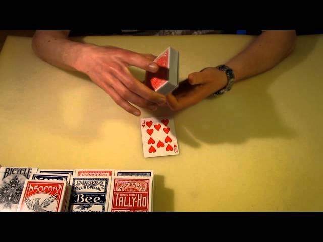 Criss Angel's Incredible Card Trick