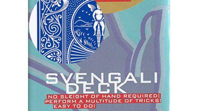 Bicycle Svengali Deck in Blau