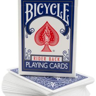 Stripper Deck von Bicycle in der Farbe blau mit Kartenschachtel