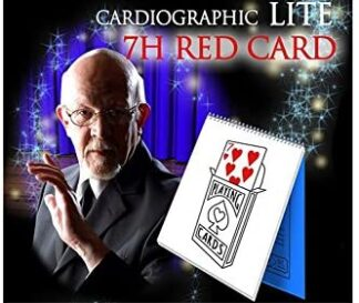 Cardiographic LITE RED Card von Martin-Lewis